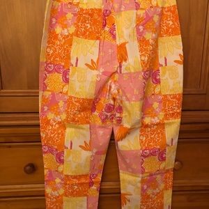 Lilly Pulitzer Pants - Lilly Pulitzer Crop Pants, Size 12